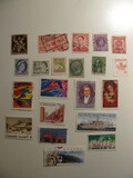 Vintage stamps set of: Belgium & Canada