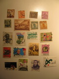 Vintage stamps set of: Belgium & Jamaica