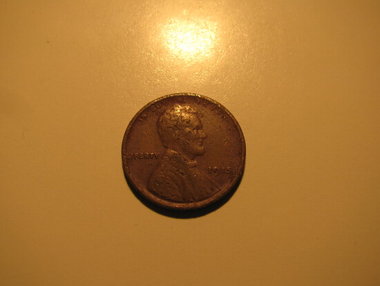 US Coins: 1915 Wheat penny