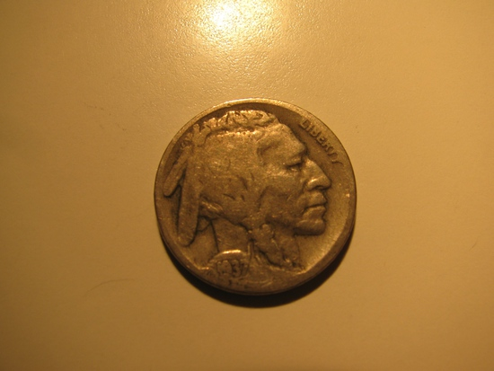 US Coins: 1937-D Buffalo 5 cents