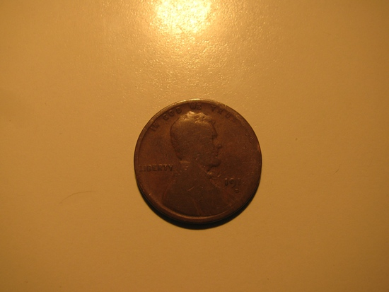 US Coins: 1913-D Wheat penny