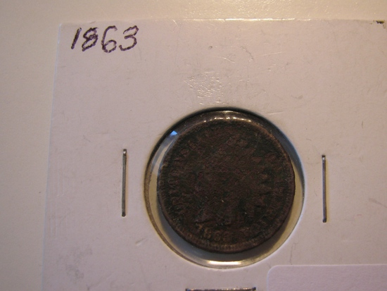 US Coins: 1863 Indian Head