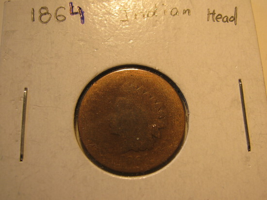 US Coins: 1864 Indian Head
