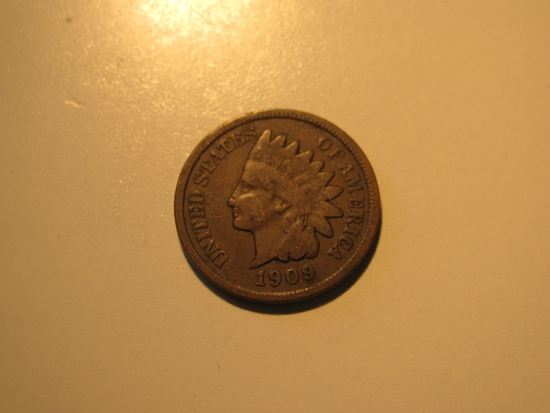 US Coins: 1909 Indian Head