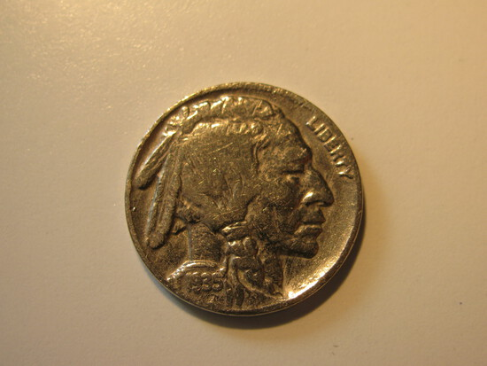 US Coins: 1935 Buffalo 5 Cents