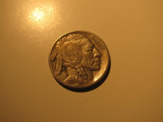 US Coins: 1934 Buffalo 5 Cents