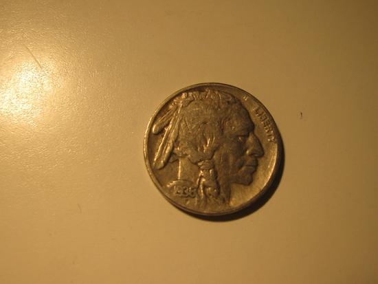 US Coins: 1936-S Buffalo 5 Cents