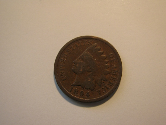 US Coins: 1894 Indian Head