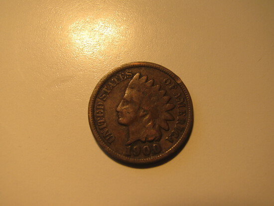 US Coins: 1900 Indian Head