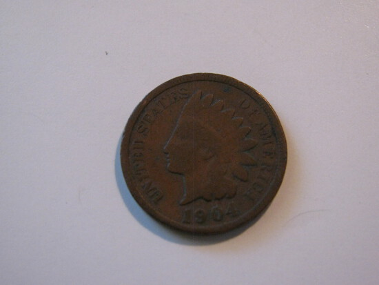 US Coins: 1904 Indian Head