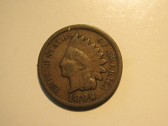 US Coins: 1898 Indian Head
