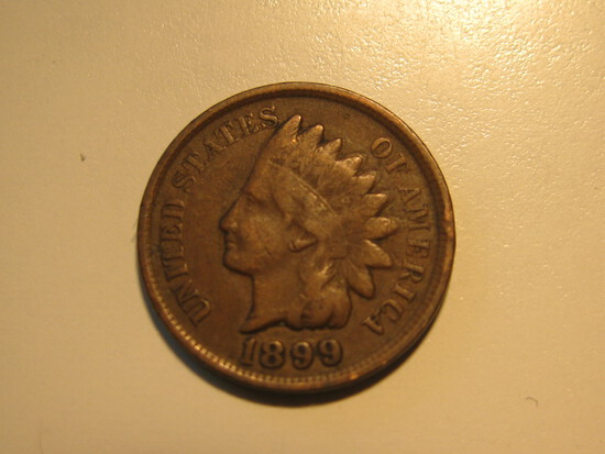US Coins: 1899 Indian Head