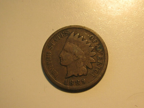US Coins: 1889 Indian Head