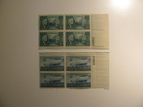 8 Vintage Unused U.S. Stamp(s)