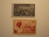 2 Guadeloupe Unused  Stamp(s)