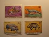 4 Guinee Unused  Stamp(s)