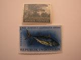 2 Indonesia Unused  Stamp(s)