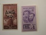 2 Italy Unused  Stamp(s)