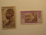 2 Ivery Coast Unused  Stamp(s)