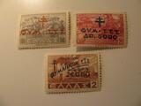 3 Greece Unused  Stamp(s)