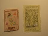 2 Macau Unused  Stamp(s)