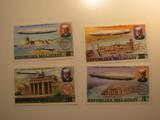 4 Madagascar Unused  Stamp(s)