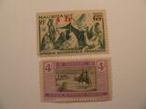 2 Mauritanie Unused  Stamp(s)