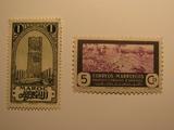 2 Morocco Unused  Stamp(s)