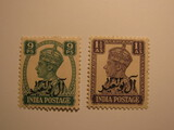 2 Muscat Unused  Stamp(s)
