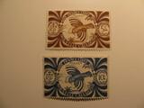2 New Caledonia Unused  Stamp(s)