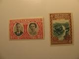 2 Rhodesia Unused  Stamp(s)