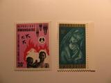 2 Rwanda Unused  Stamp(s)