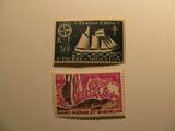 2 St. Pierre & Miquelon Unused  Stamp(s)