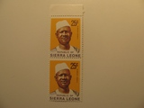 2 Sierra Leone Unused  Stamp(s)