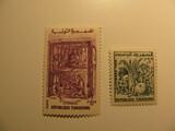 2 Tunisia Unused  Stamp(s)