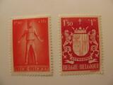 2 Belgium Unused  Stamp(s)