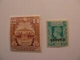 2 Burma Unused  Stamp(s)
