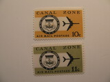 2 Canal Zone Unused  Stamp(s)
