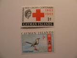 2 Cayman Islands Unused  Stamp(s)