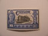 1 Ceylon Unused  Stamp(s)