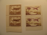 4 Chile Unused  Stamp(s)