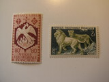 2 French Africa Unused  Stamp(s)