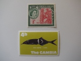 2 Gambia Unused  Stamp(s)