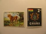 2 Ghana Unused  Stamp(s)