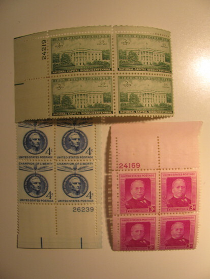 12 Vintage Unused U.S. Stamp(s)