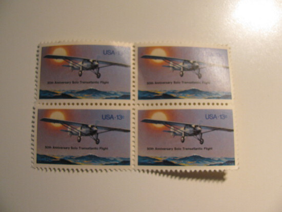 4 Vintage Unused U.S. Stamp(s)