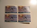 4 Vintage Unused U.S. Stamp(s)
