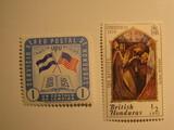 2 Honduras Unused  Stamp(s)