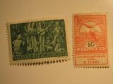 2 Hungary Unused  Stamp(s)