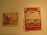 2 Infi Unused  Stamp(s)
